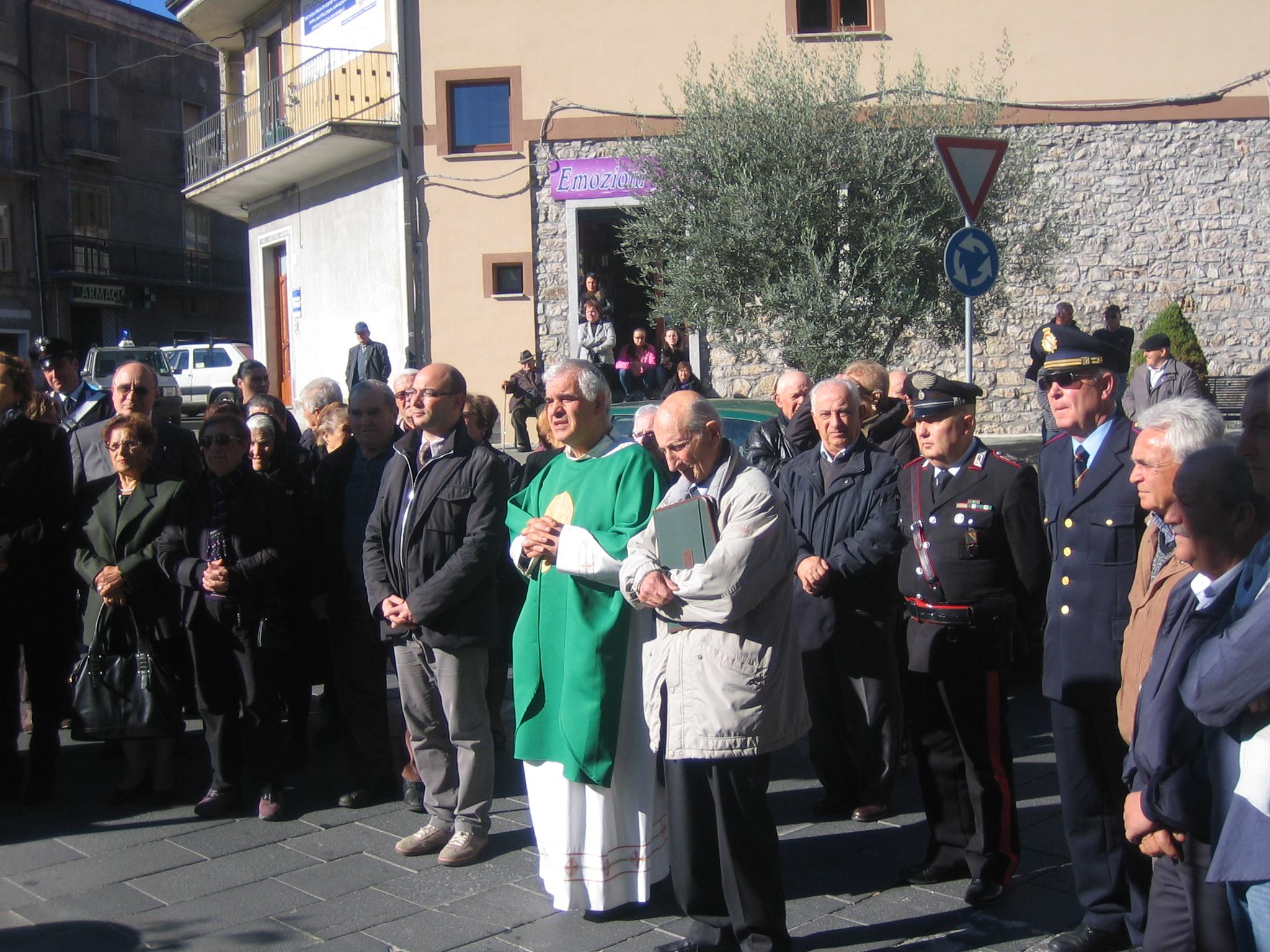 Padre Giuseppe 25 anni parroco di Sanza