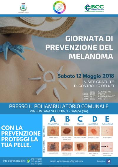 Giornata prevenzione melanoma