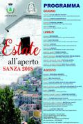 Estate all\'aperto - Sanza 2018