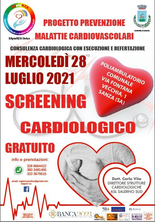 Screening Cardiologico Gratuito