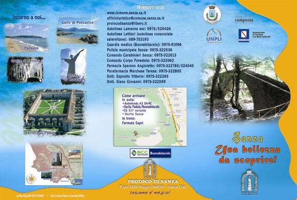 Brochure Informativa Lato A