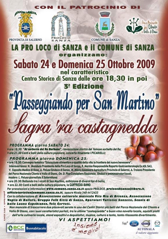 MANIFESTAZIONI ANNO 2009