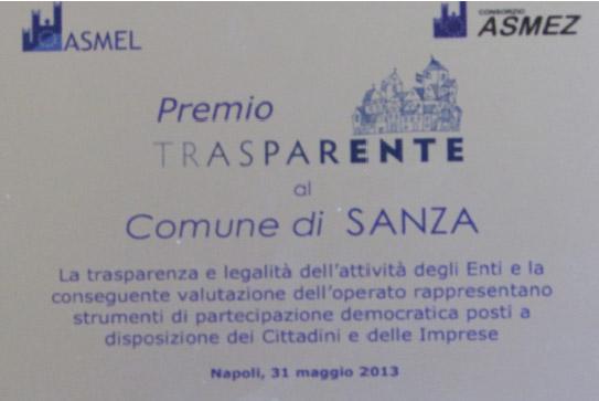 Premio TRASPARENTE
