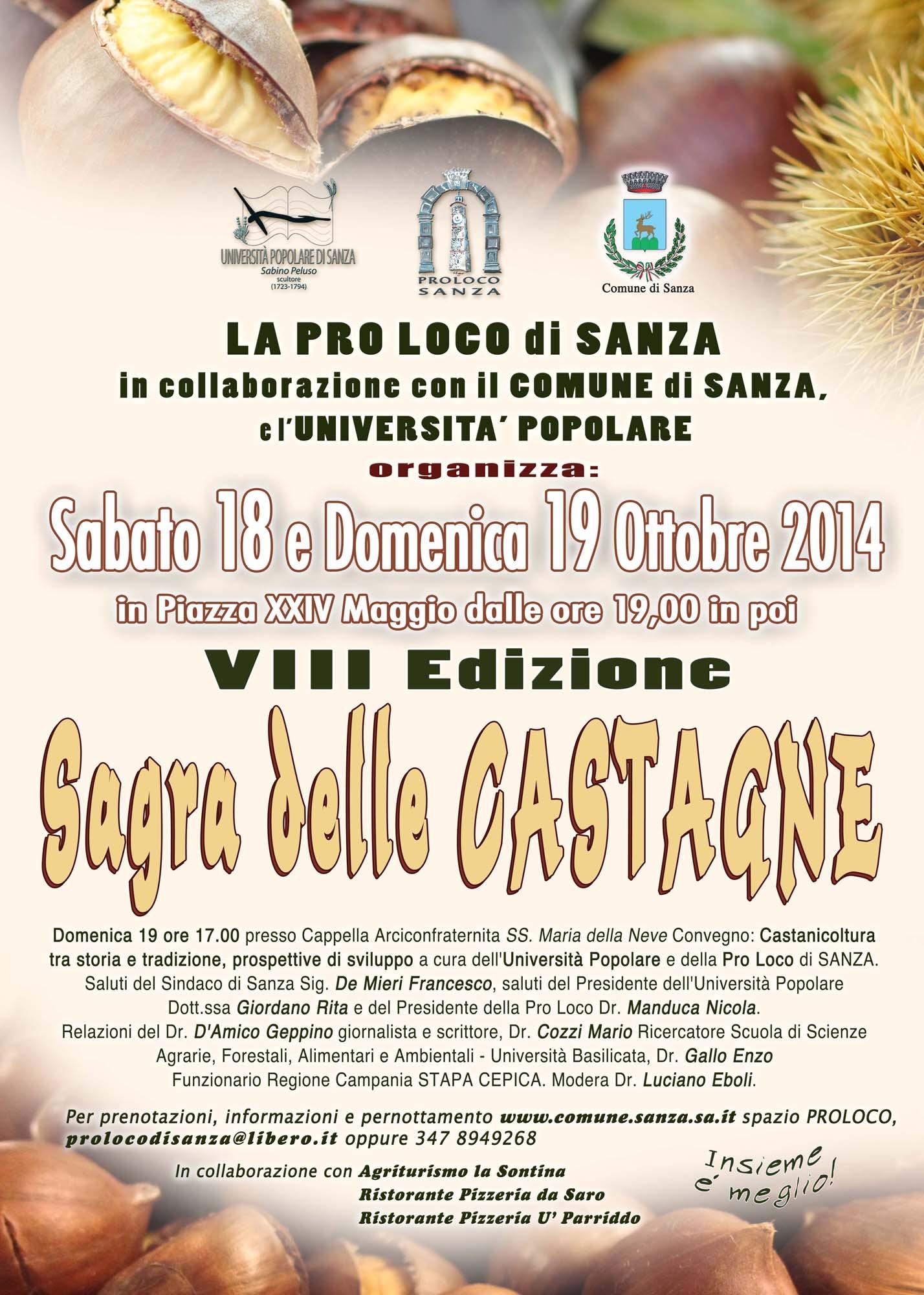 Sagra Castagna 2014