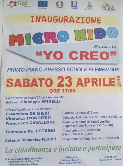 Inaugurazione Micro nico