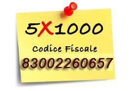 5x1000 al tuo Comune