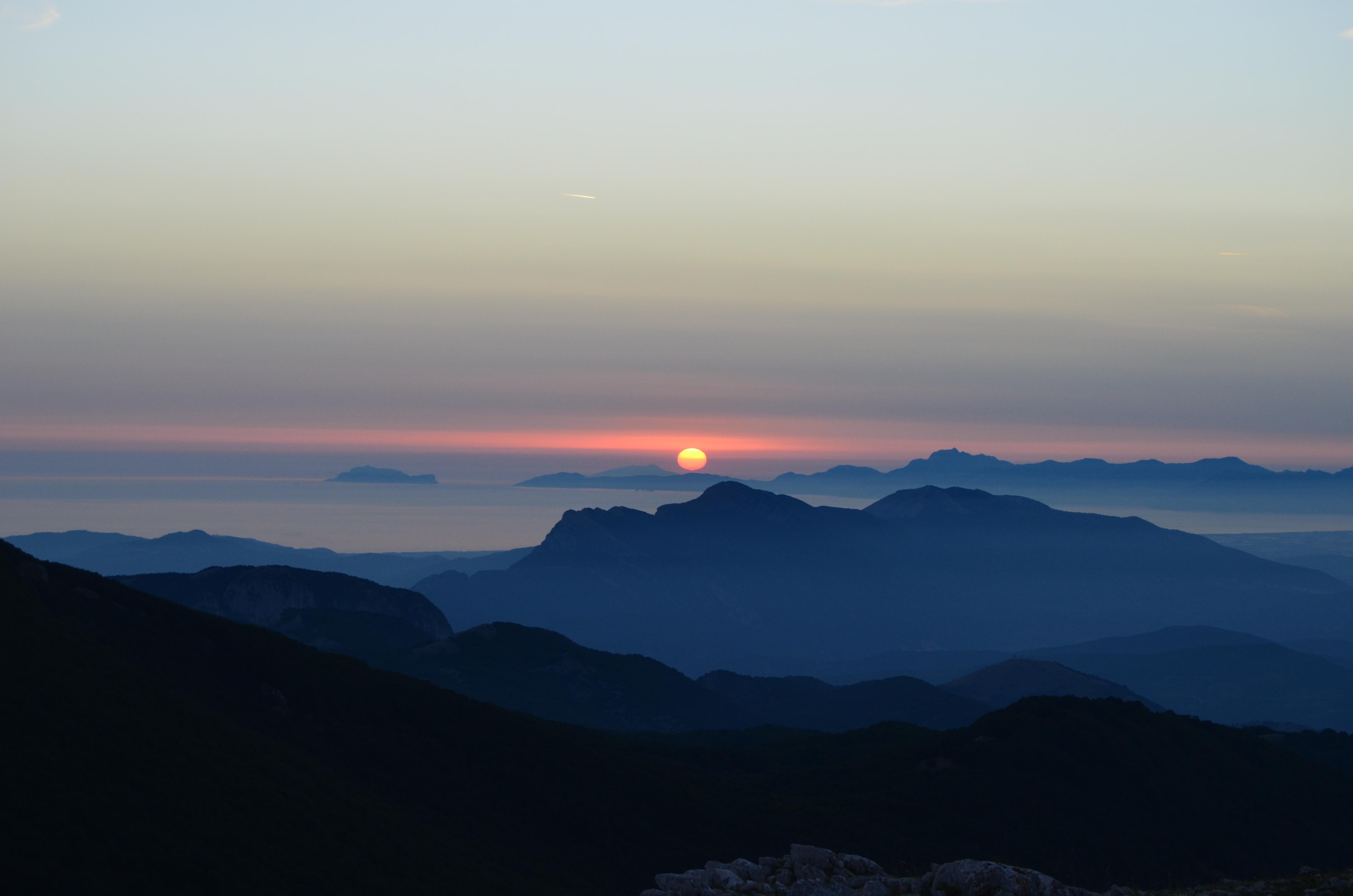 Panorama dal Monte Cervati